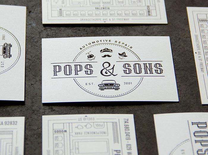 Pops & Sons Identity