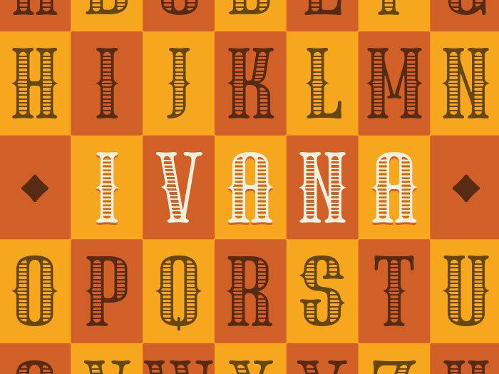 Ivana DSP Font