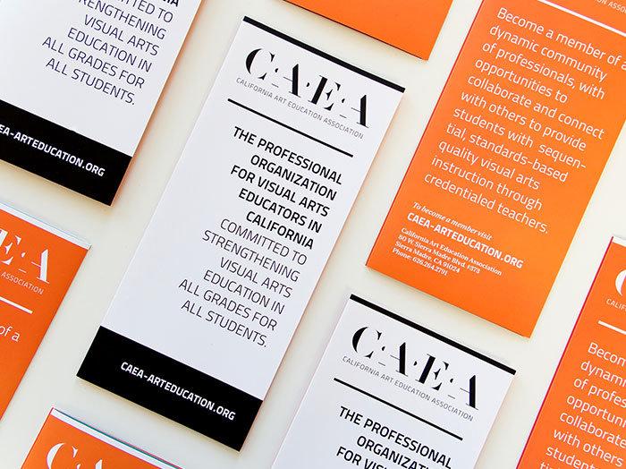 California Art Education Association Brochure